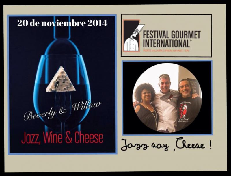 Jazz wine & chesse