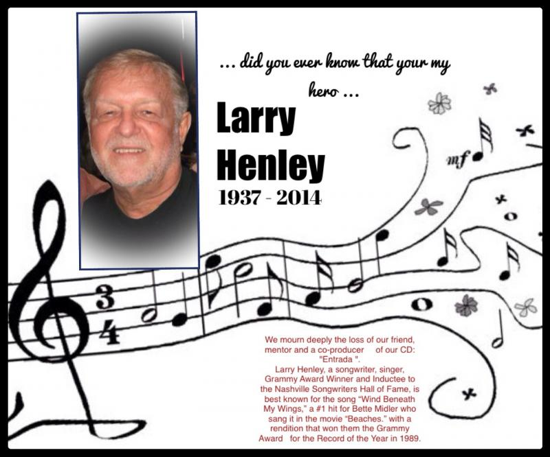 Larry Henley / Wing beneath my wings